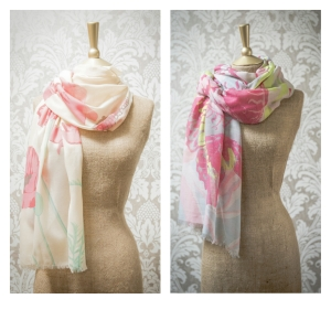 powder scarves