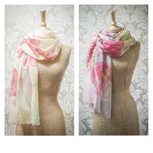 powder scarves