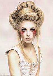 Portrait of Glamorous Woman