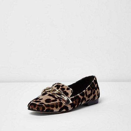 leopard-print-chain-loafer-river-island