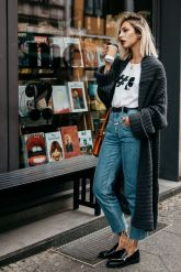 loafer-outfit-oversized-cardigan