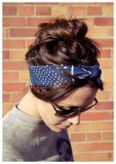 hairband-oily-hair-style
