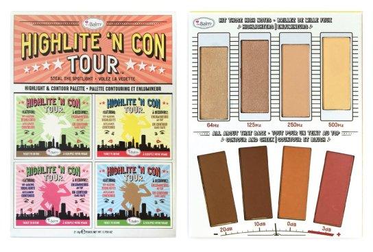 The balm highlight n con tour palette