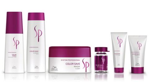 Wella colour save sp range