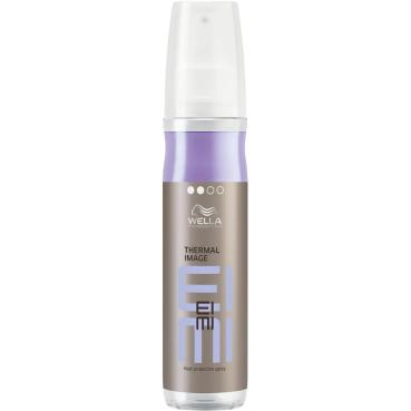Wella heat protection spray - thermal image