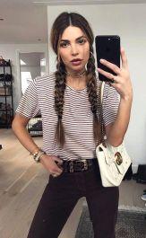 2 braids hair