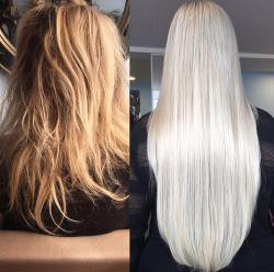 before and after hair extensions7