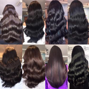 hair extensions brunette beauty hair