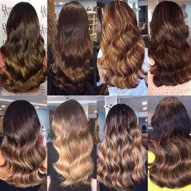 hair extensions custom balayage hair