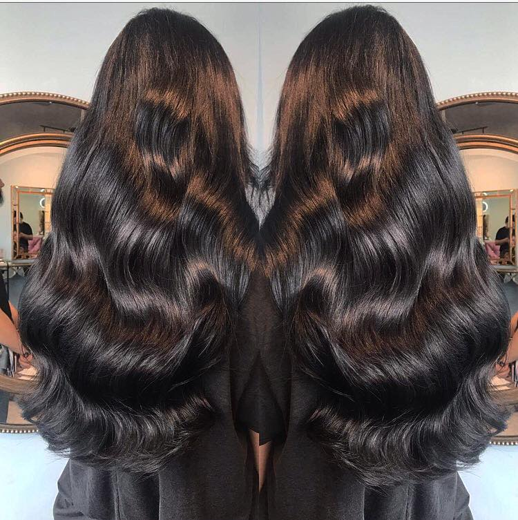 Hair Extensions At Grow Unltd Beauty And The Brunette