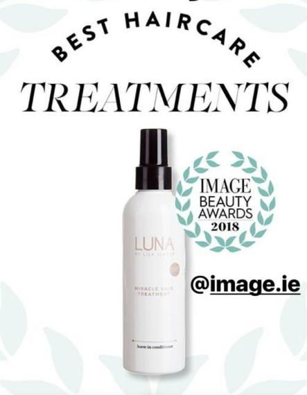 luna miracle hair treatment image awards